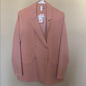 Pink F21 oversized Blazer